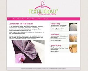 textilicious textiluthyrning
